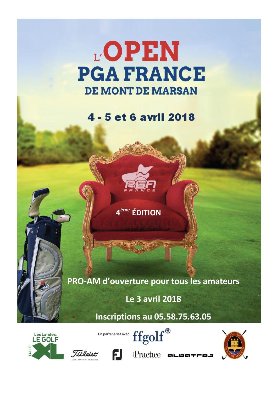 OPEN PGA FRANCE 2018