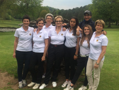 Promotion Nationale Dames au golf d'Aubazine