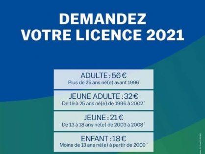 Demandez votre licence ffgolf 2021
