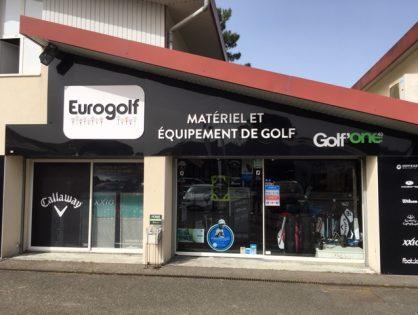 Quelques photos de la boutique de Golf One 40