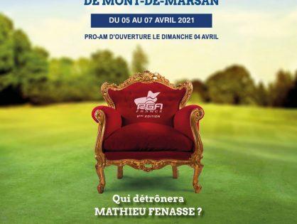 Heures de départ du 1er tour de l'Open PGA France de Mont de Marsan