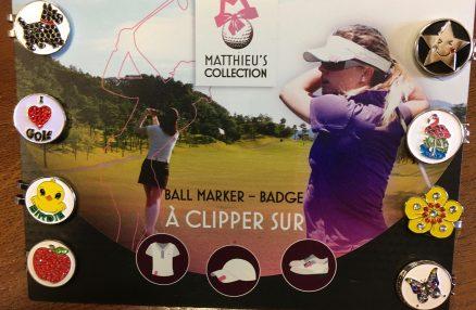 Boutique du golf: marques balles clips originaux et magnifiques