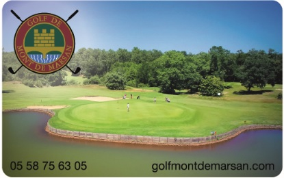 Vos cartes de membres sont à retirer à l'accueil du golf