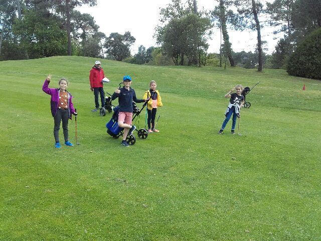 Retour en images sur la compétition de l'École de Golf du 19 mai
