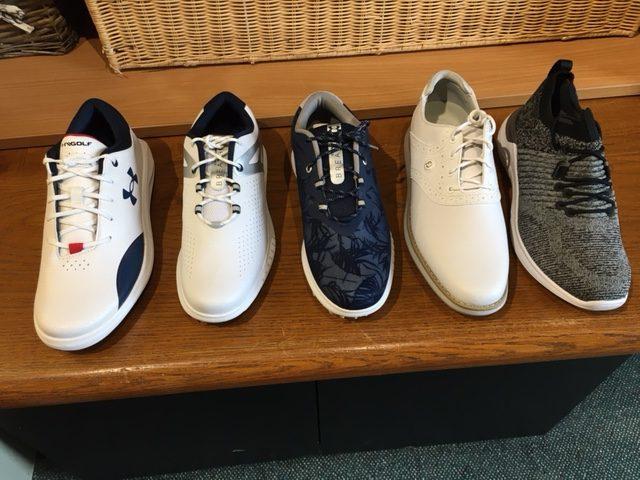 Nouvelle collection de chaussures Dames Under Armour et Footjoy