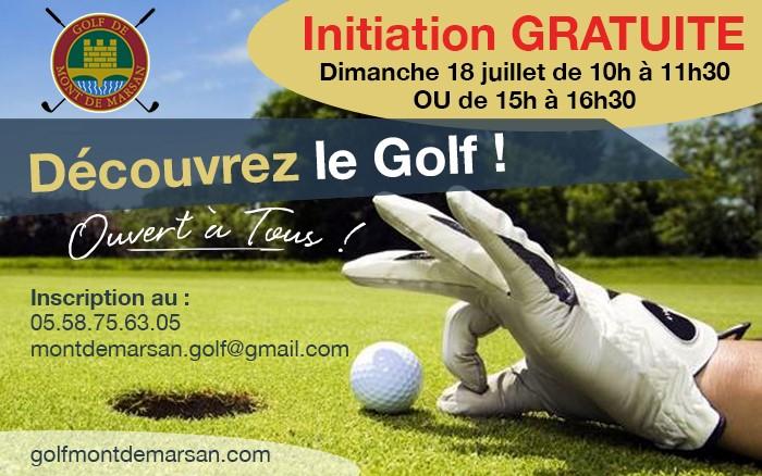 Vous voulez essayer le golf?