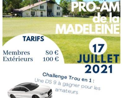 Retour en images sur le 29ème Pro Am de La Madeleine
