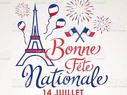 Bonne Fête Nationale à tous!
